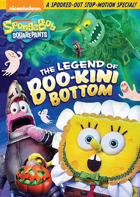 SpongeBob The Legend of Boo-Kini Bottom 2018 DVD R1 NTSC Latino