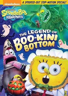 SpongeBob The Legend of Boo-Kini Bottom 2018 DVD R1 NTSC Latino