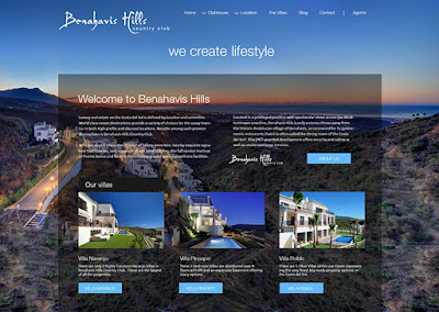 Benahavis Hills property resort website