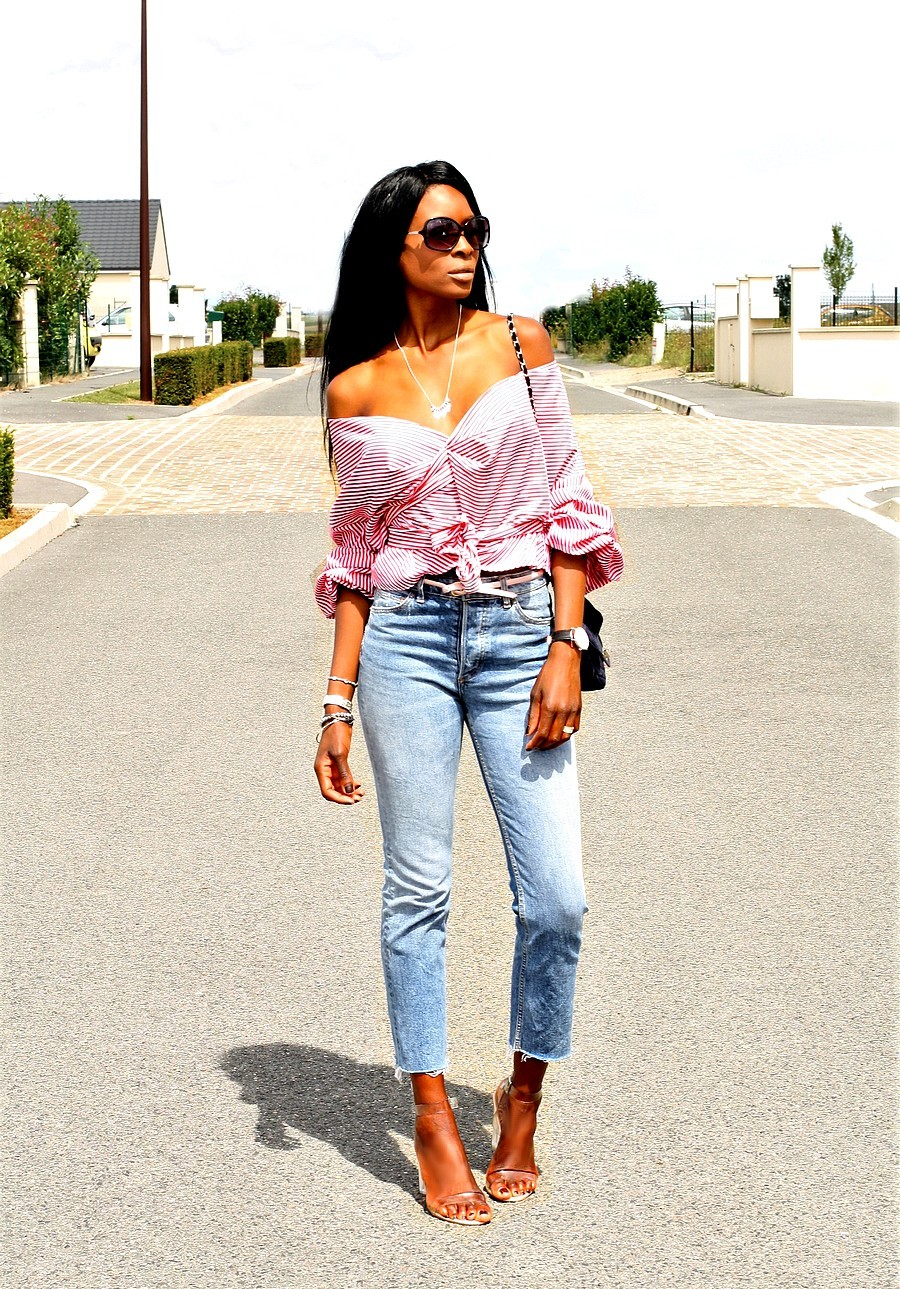 wrap-tie-front-top-high-waist-jeans-summerstyle