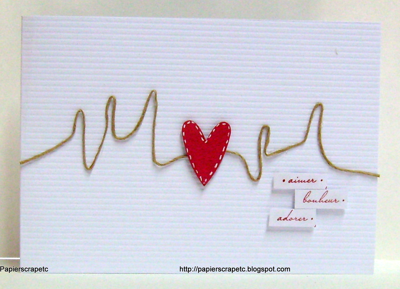 papierscrapetc une carte pour la st valentin tr s originale. Black Bedroom Furniture Sets. Home Design Ideas