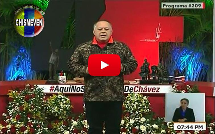 A Diosdado no le gustó que informáramos la noticia de la deportación de Daniela Cabello