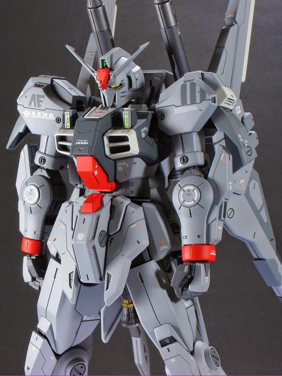 """Custom Build: RE/100 Gundam Mk-III """"Gray"""""""