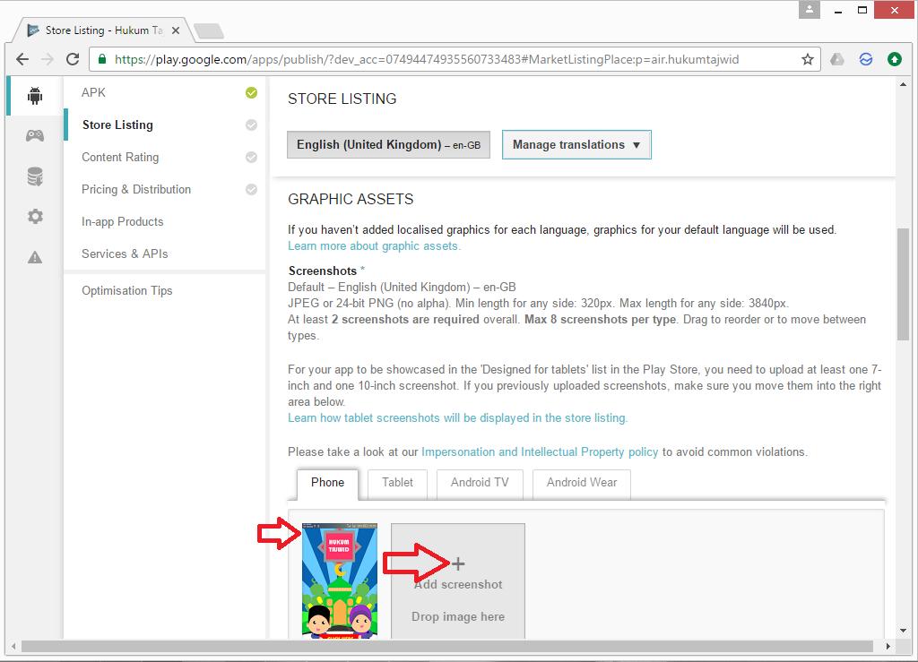 kerul net: Publishing apps to Google Play
