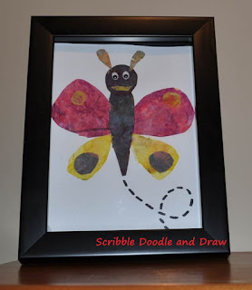 Eric Carle Butterfly craft for kids