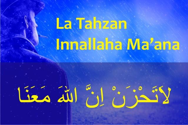 Tulisan Arab La Tahzan