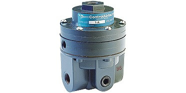 pneumatic control system volume booster