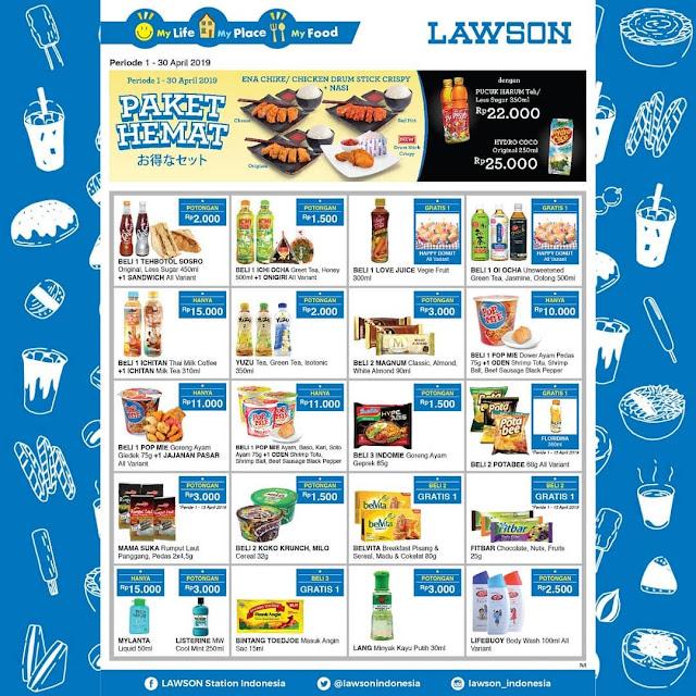 #Lawson - #Promo April 2019 & Dapatkan Paket & Harga Special (s.d 30 April 2019)