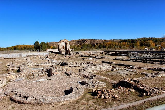 Basilica, palatinium yacimiento romano Carranque, Villa Materno