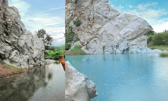 Gunung Batu Objek Wisata Mandalare Kota Banjar Sudah Ngetrend