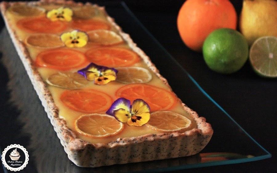 tartaleta-de-amapola, curd-de-citricos, citrus-curd, poppy-seeds-tart