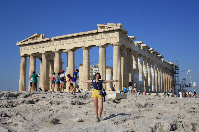 athens acropolis sightseeing archaeology parthenon
