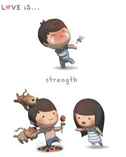 love is strength