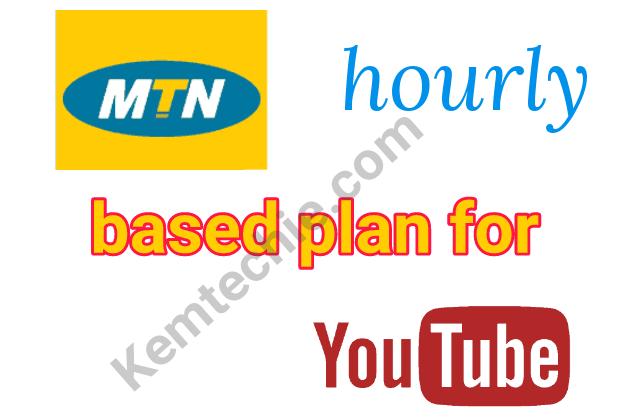 MTN YouTube Hourly data plans
