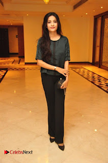 Aiswarya Rajinikanth Dhanush Standing on an Apple Box Launch Stills in Hyderabad  0034.jpg