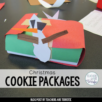 STEM Challenge: Build a cookie package for Christmas gifts that can withstand a great fall!