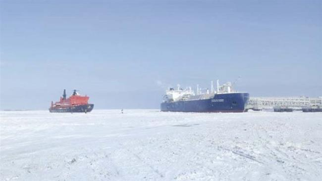 Global warming allows LNG tanker to pass through Arctic