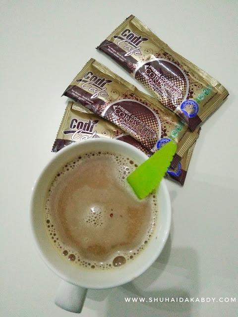 Minum Kopi Pun Boleh Hilangkan Gastrik, Codi Cafe