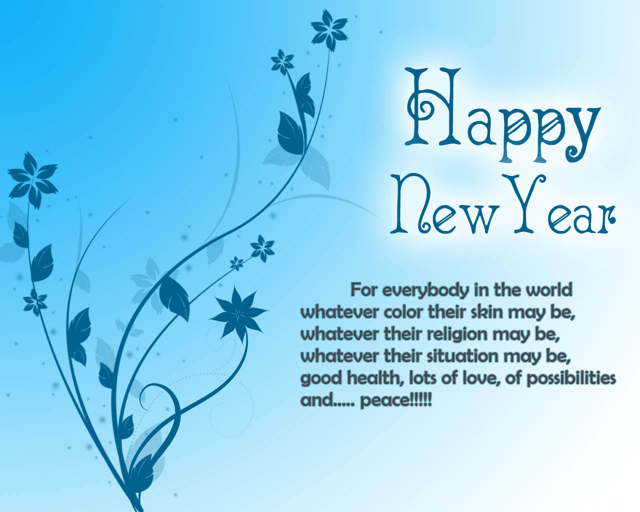Click on Image to enlarge it. 1280 x 1024.Funny Happy Free New Year Text Messages