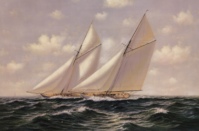 Classic Sailboats Race