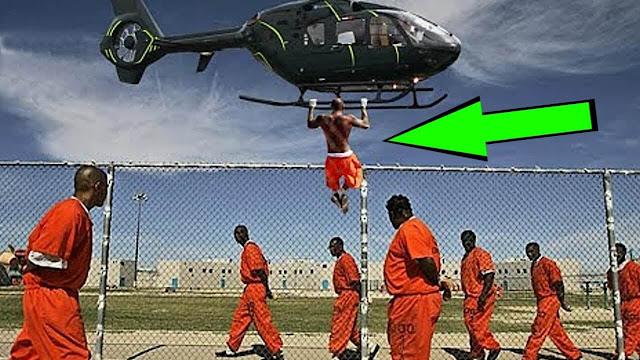 اغرب 5 حالات هرب من السجن بطرق مجنونة تعرف عليها لأن