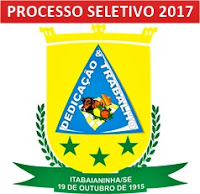 Processo Seletivo Prefeitura de Itabaianinha 2017