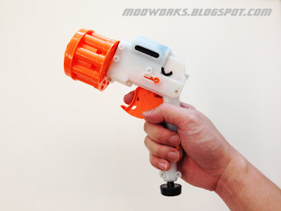 Nerf Dart Tag Snapfire 8 - Review, Video & Internals Guides