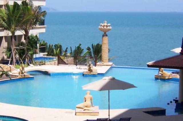 пляж отеля Centara Grand Mirage Beach Resort Pattaya