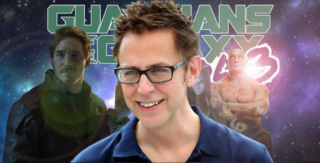 Disney Pekerjakan Kembali James Gunn untuk GOTG Vol.3