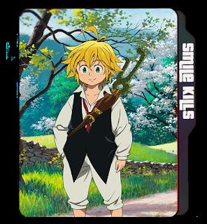 7 Deadly Sins folder icon, Ser Meliodas, Sword, Anime icons, Anime tv show icons, Blonde guy, Cute boy.