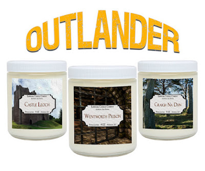 Outlander Soy Candles on Etsy