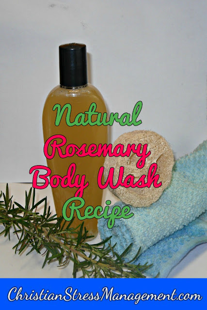Natural Rosemary Body Wash Recipe