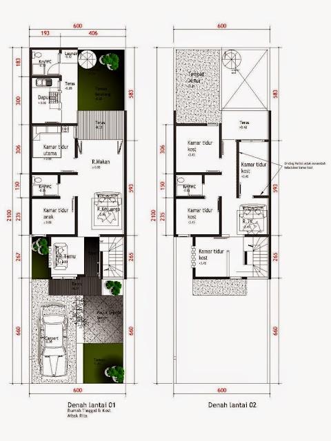 Desain Rumah Minimalis 2 Lantai 10X12 Gambar Foto Desain Rumah