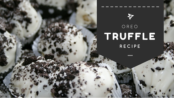 2 Easy Last MinuteTruffle Recipes (Oreo + Fruitcake)