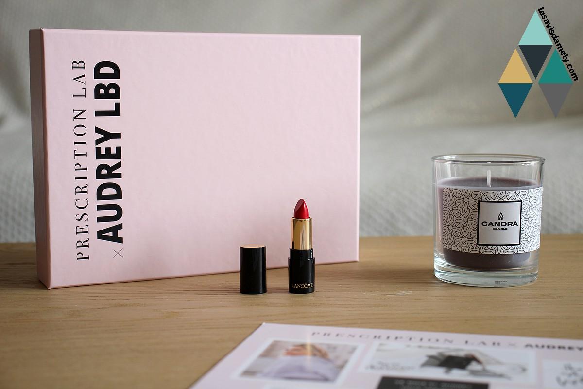 revue beauté rouge à lèvres l'absolue rouge de lancome