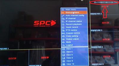 Cara reset password UVR dan DVR spc