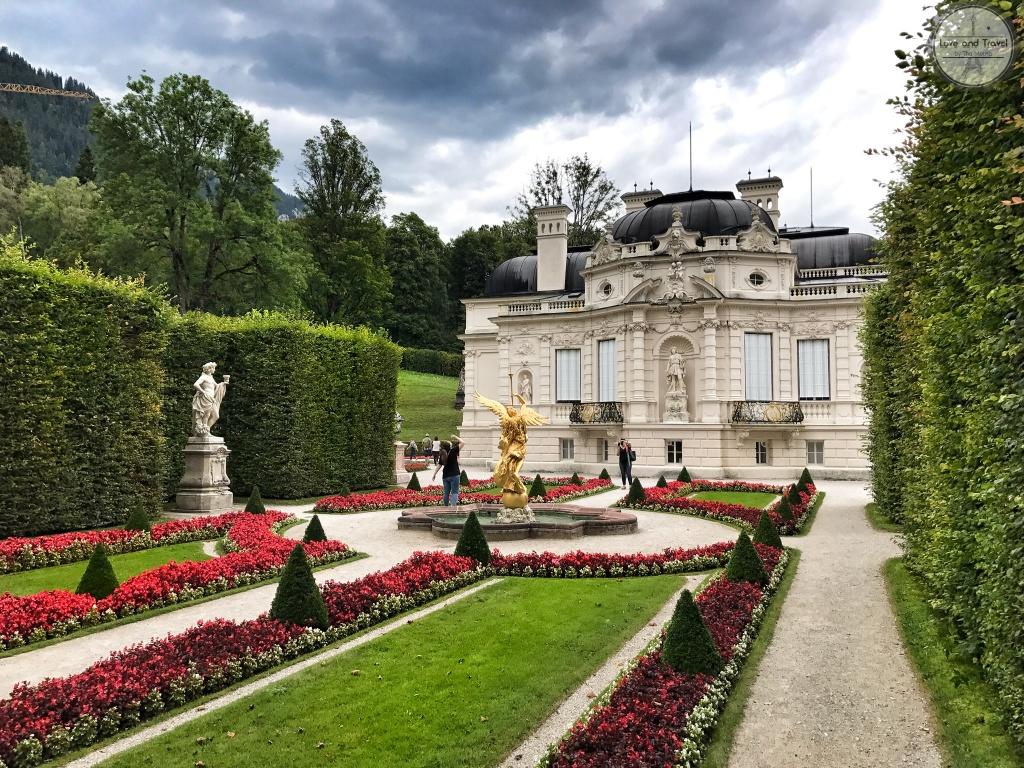 Palácio Linderhof  alemanha