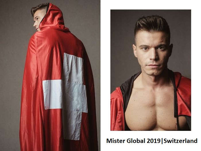 Impressive Pictures Of Mister Global Contestants Dressed In Their National Costumes, Resembling Video Game Bosses