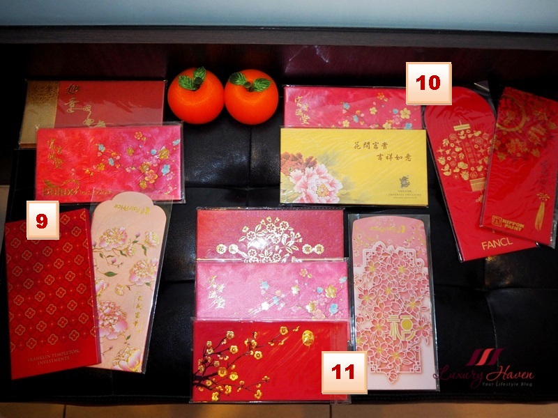 chinese new year auspicious characters hong bao collectors