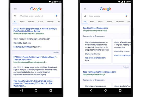 Google Rilis Fitur Fast Check