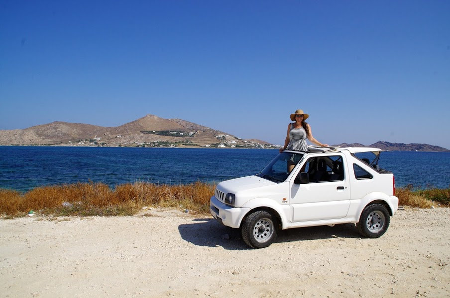 Roadtripping Paros Island Greece