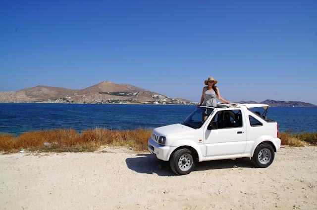 Roadtripping Paros Island Greece