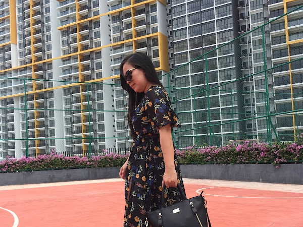 #keriitletoOOTD: My flowery dress