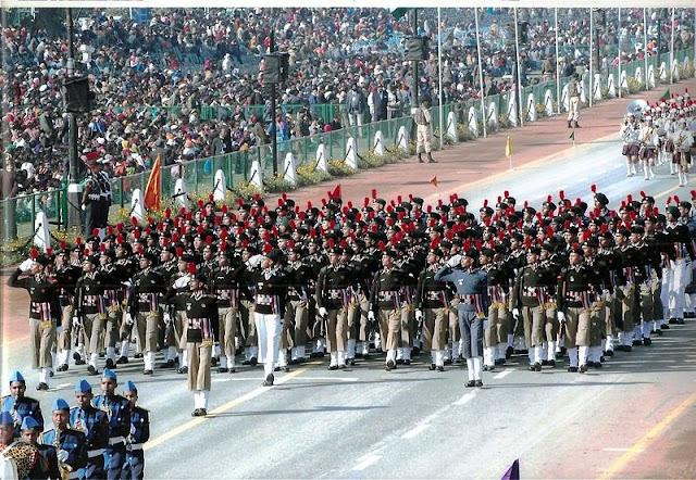 पहली बार गणतंत्र परेड कहां पर हुई थी . First Republic Day Parade