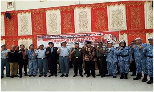Wako Mahyeldi  Akan Benahan Interen Forum Bela Negara,.