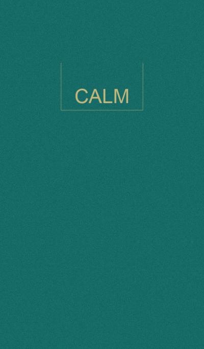 CALM GREEN.