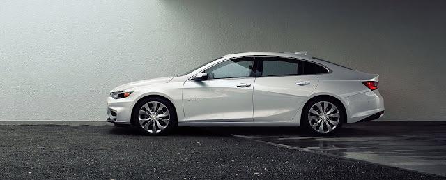 2016 Chevrolet Malibu white