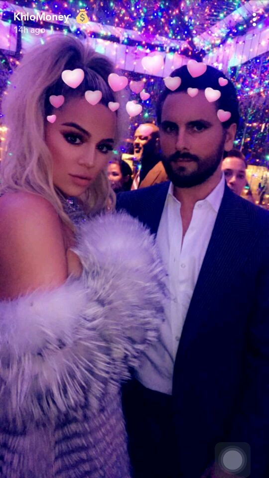 Pregnant Khloe Kardashian dazzles at Kris Jenner's Christmas party