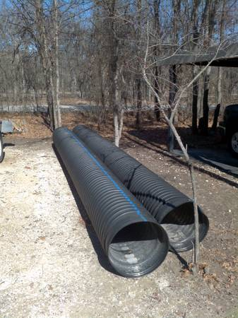 For Sale $250 HDPE Culvert double wall corrugated ...