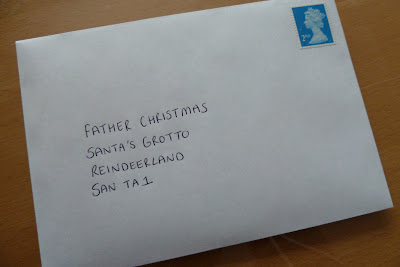 Child's first letter to Father Christmas